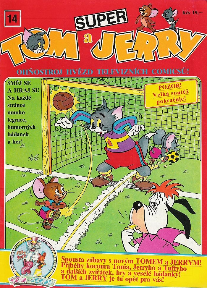 Super Tom a Jerry #14
