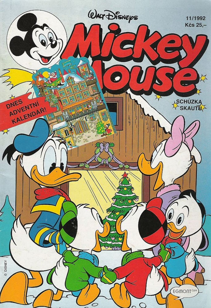 Mickey Mouse 1992/11