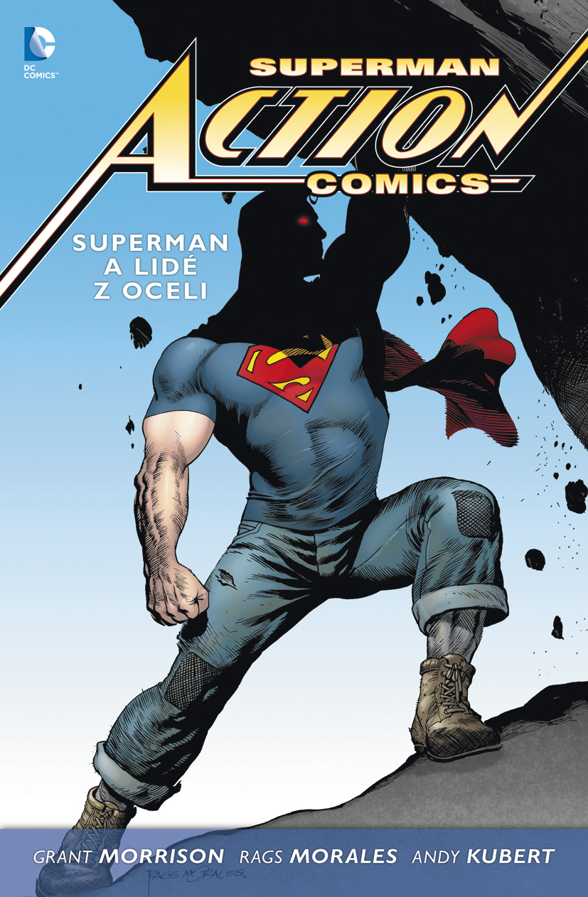 Superman Action Comics #01: Superman a lidé z oceli (paperback)