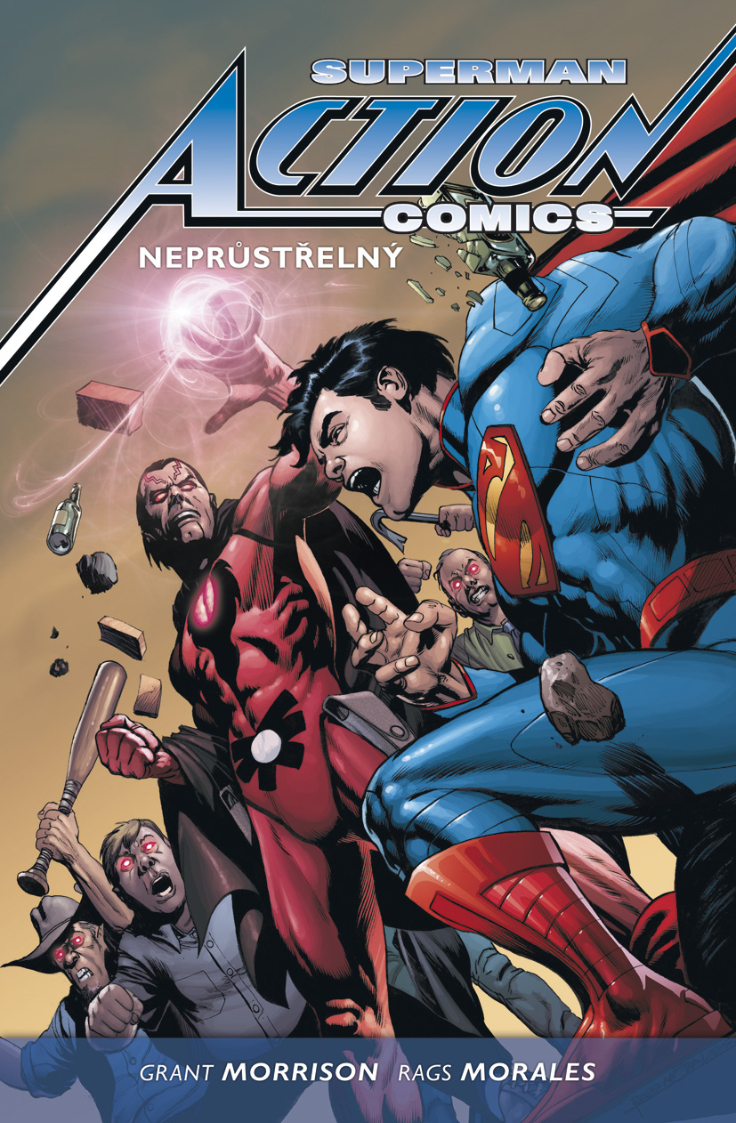 Superman Action Comics #02: Nepr�st�eln� (pevn� vazba)