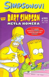 Simpsonovi 2015/06 Bart Simpson: Metla Homera