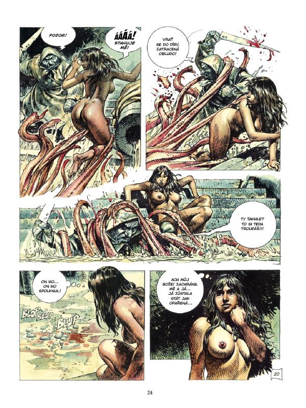komiks porno obrázok vonkajšie porno