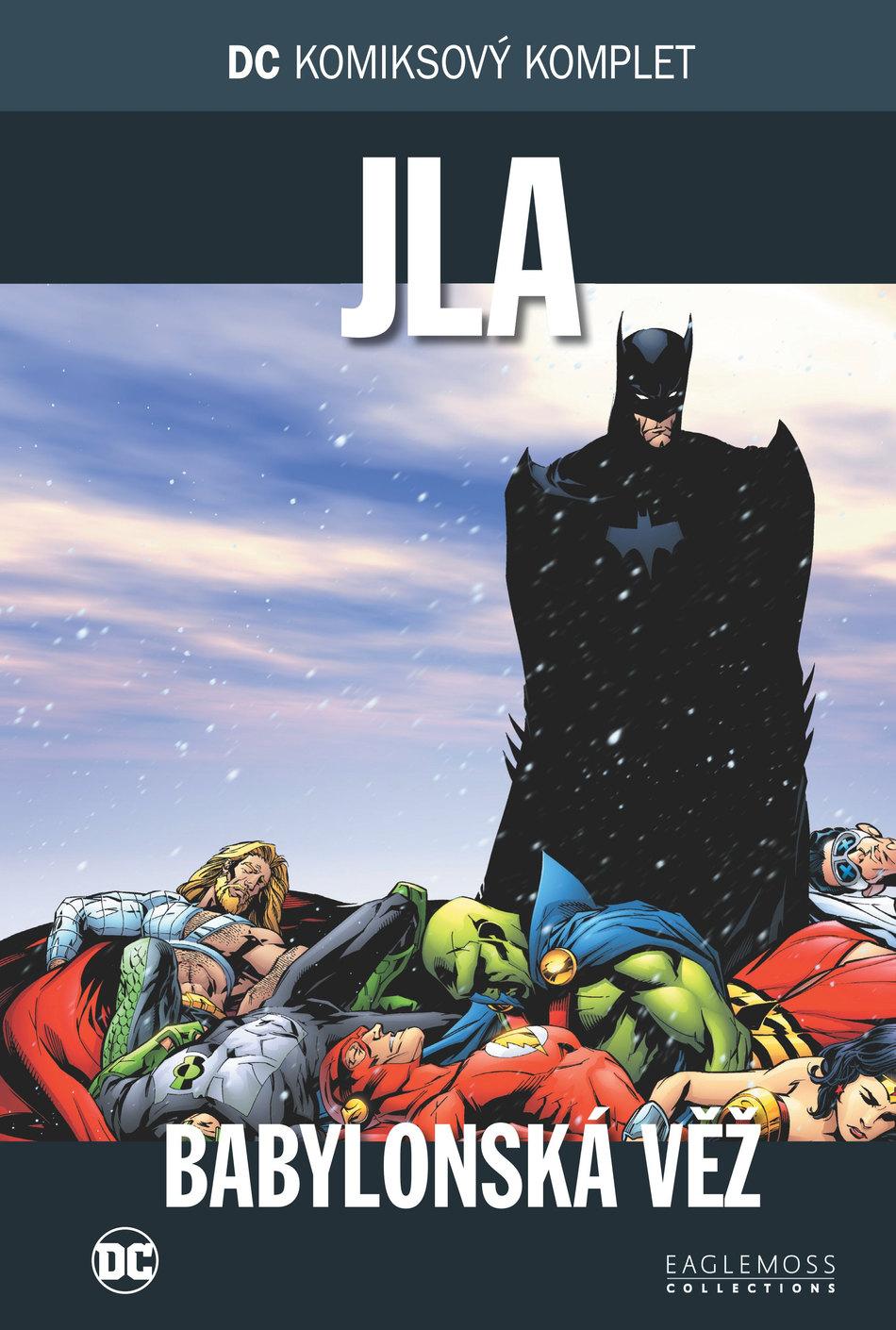 408e5b1ae7d DC komiksový komplet  011  JLA  Babylonská věž