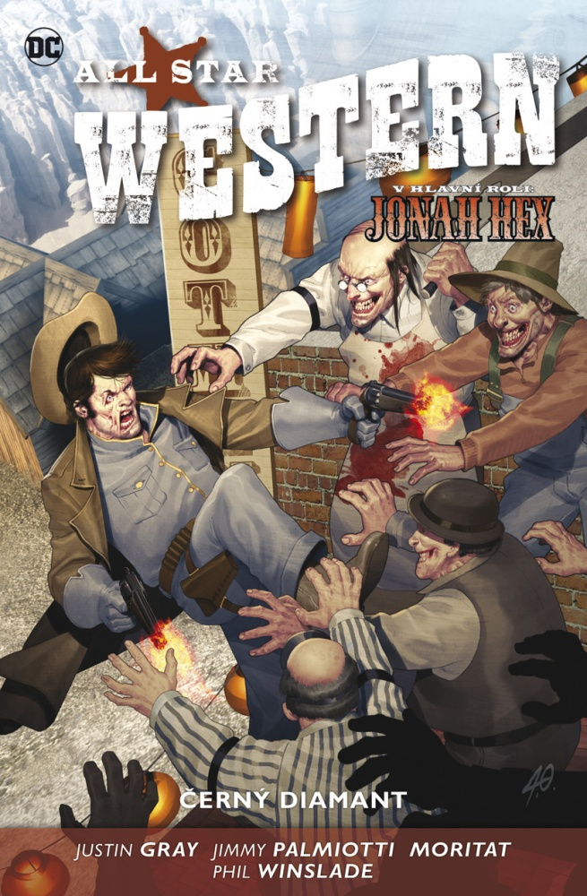 All Star Western #03: Černý diamant (paperback)