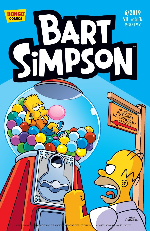 Simpsonovi 2019/06 Bart Simpson
