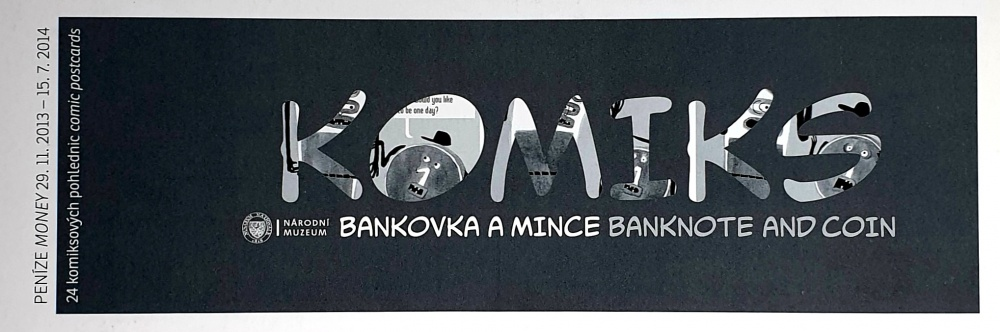 Bankovka a Mince / Banknote and Coin - Komiks