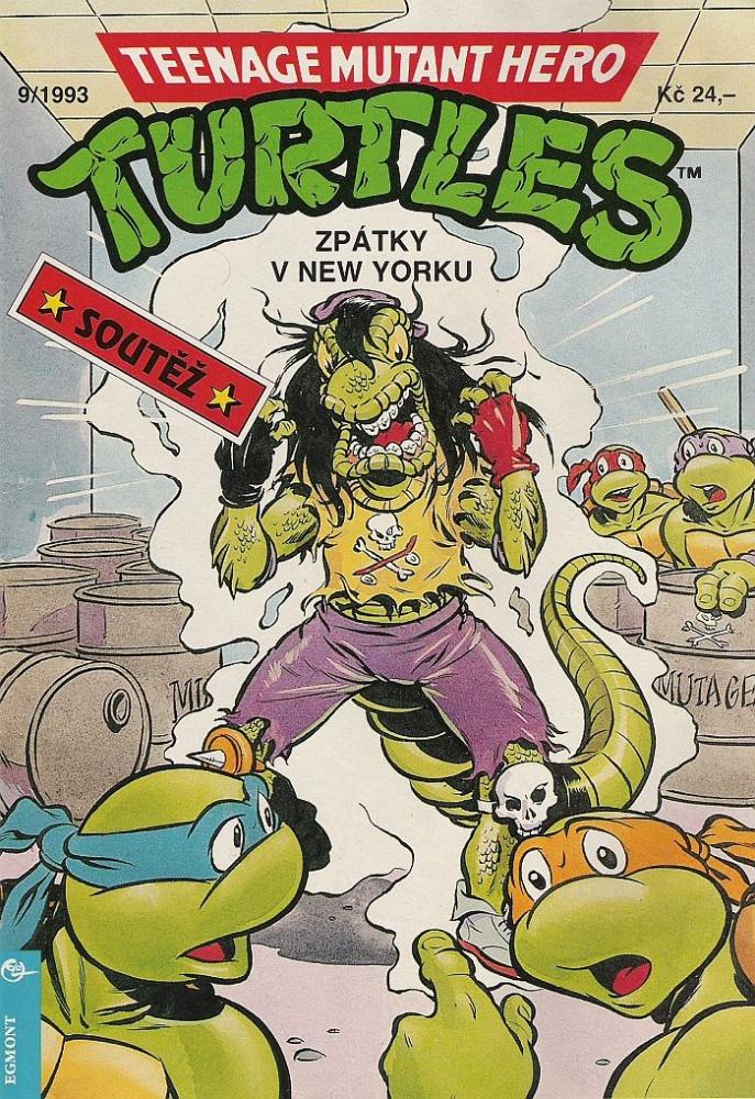 Teenage Mutant Hero Turtles Rollen