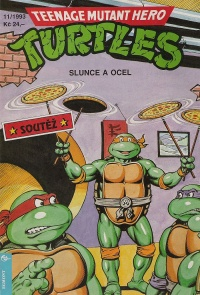 Teenage Mutant Hero Turtles #23 (11/93)