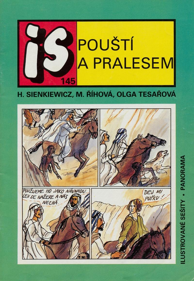 Ilustrovane Sesity 145 Pousti A Pralesem Comicsdb